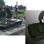 пам'ятник надгробний з граніту Елітний Подвійний, 3D проектування памятника гранітного, Бронзова фурнітура для пам'ятника , ритуальна ангела Статуя на цвинтар