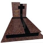 пам'ятник надгробний з українського граніту подвійний Елітний