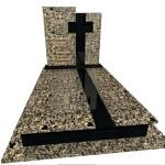 пам'ятник з граніту подвійний Елітний