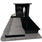 пам'ятник гранітний подвійний Ексклюзивний