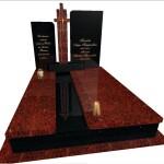 пам'ятник надгробний гранітний подвійний Елітний