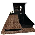 пам'ятник надгробний гранітний подвійний Ексклюзивний