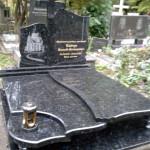 Елітний пам'ятник з лабладориту.Хрест