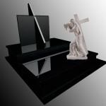 памятник элитный с Исусом