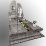 Италийськие памятники на могилу