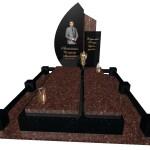 пам'ятник надгробний гранітний для чоловіка Ексклюзивний