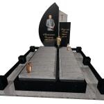 пам'ятник надгробний гранітний одинарний Ексклюзивний