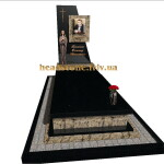 елітний гранітний пам'ятник для чоловіка