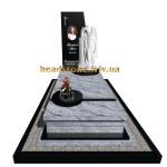 елітний гранітний пам'ятник з ангелом