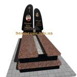 надгробний пам'ятник з вазою на могилу