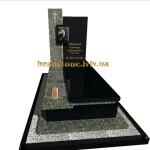 елітний одинарний пам'ятник гранітний