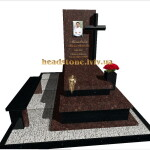 гранітні пам'ятники з хрестом