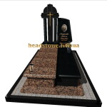 пам'ятники з хрестом на могилу