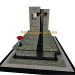 комплекс на могилу пам'ятник з граніту