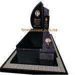 елітний пам'ятник з аркою та хрестом