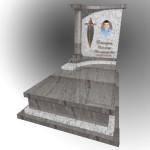 ексклюзивний гранітний памятник светлий