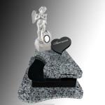 Дитячий памятник Граніт-Покостівка+габро,скульптура Ангела
