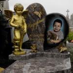 пам'ятник дитячий з Ангелом