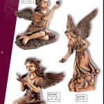 скульптуры ангелочков на памятников
