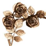 Декор для памятника квіти з бронзи Lorenzi