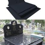 пам'ятник надгробний з граніту Елітний Півторачка ,3D проектування памятника гранітного, Бронзові аксесуари для пам'ятника , ритуальна ангела Статуя на цвинтар
