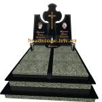 подвійні  пам'ятники з граніту
