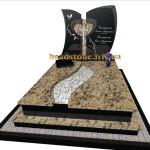 подвійний пам'ятник на могилу