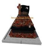 пам'ятник на могилу з хрестом