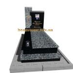 одинарний пам'ятник х хрестом