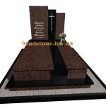 надгробний гранітний подвійний Елітний