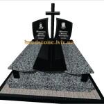 подвійні памятники з хрестом