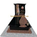елітний пам'ятник з граніту для мами