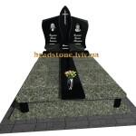 пам'ятник з граніту подвійний