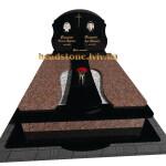гранітні памятники з хрестом