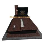 пам'ятник з граніту подвійний від виробника