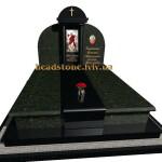 пам'ятник гранітний подвійний
