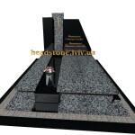 елітні подвійні памятники з хрестом
