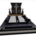 елітний пам'ятник гранітний подвійний