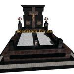 елітні памятники на двох на могилу