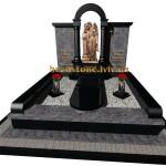 елітний пам'ятник з хрестом