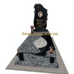 елітний жіночий пам'ятник на могилу