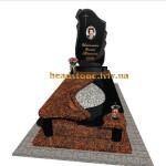 гранітний пам'ятник для хлопця