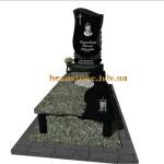 надмогильний пам'ятник гранітний з хрестом