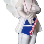 Ритуальна скульптура Ангела №293В розм.29*12*12