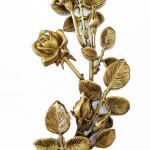 Фурнітура для пам'ятника квіти з бронзи
