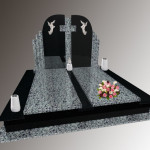 Памятник подвійний габро,покостівка