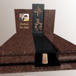 Памятник подвійний Граніт =Токівсткий+Буки