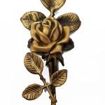 Бронзова фурнітура для памятника квіти