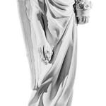 Ритуальна скульптура Ангела №165 розм:48*24*20