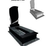 Памятник гранітний :Покостівка+габро